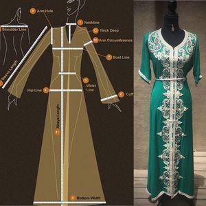 Dresses & Skirts - ❤️Measurement Guide For Handmade Kaftans❤️